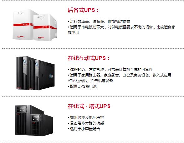 山特UPS