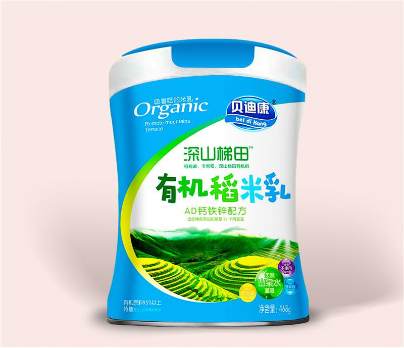 有机稻米乳-AD钙铁锌配方
