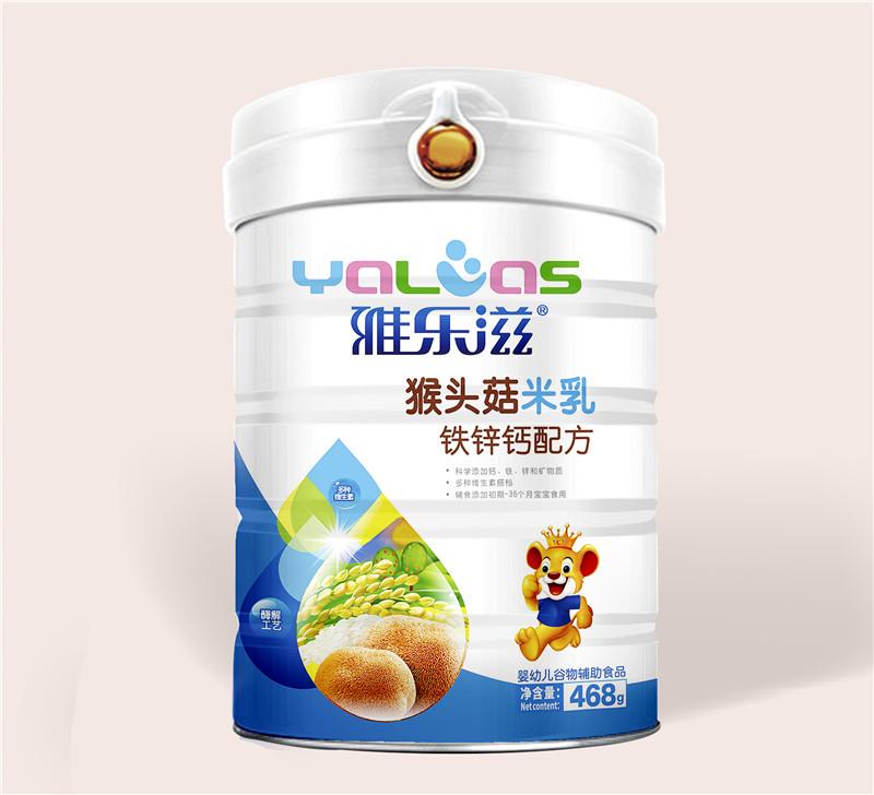雅乐滋猴头菇米乳-铁锌钙配方