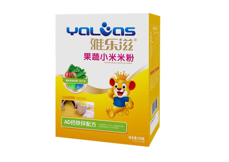 果蔬小米米粉-AD钙铁锌配方
