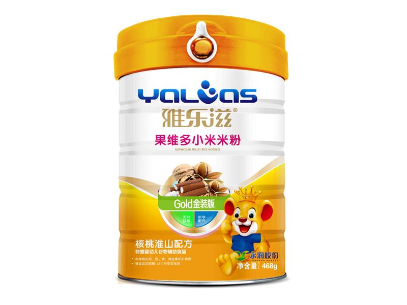 果维多小米米粉-核桃淮山配方
