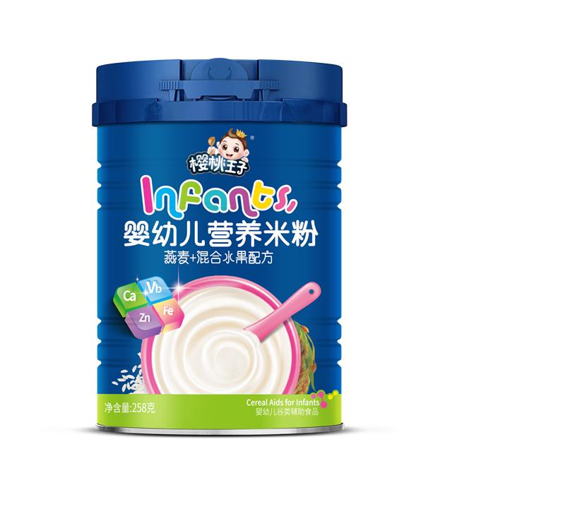 258克营养米粉-混合水果
