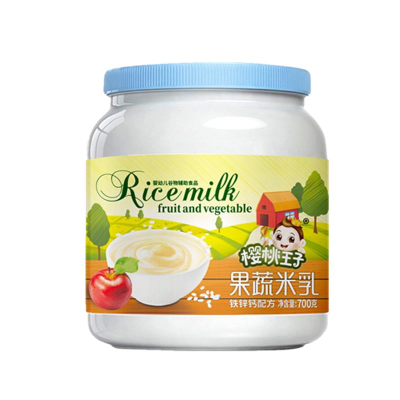 果蔬米乳钙铁锌配方