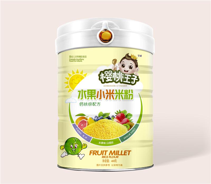 樱桃王子水果小米米粉-钙铁锌