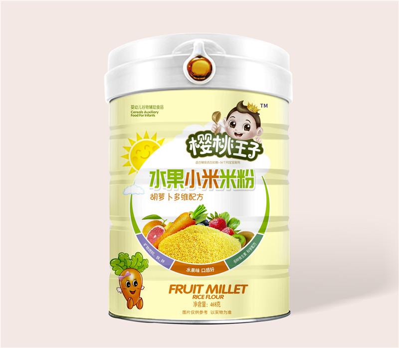 樱桃王子水果小米米粉-胡萝卜多维