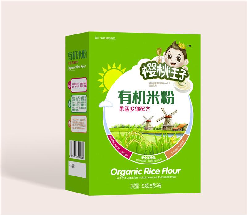 樱桃王子有机米粉盒装-果蔬多维