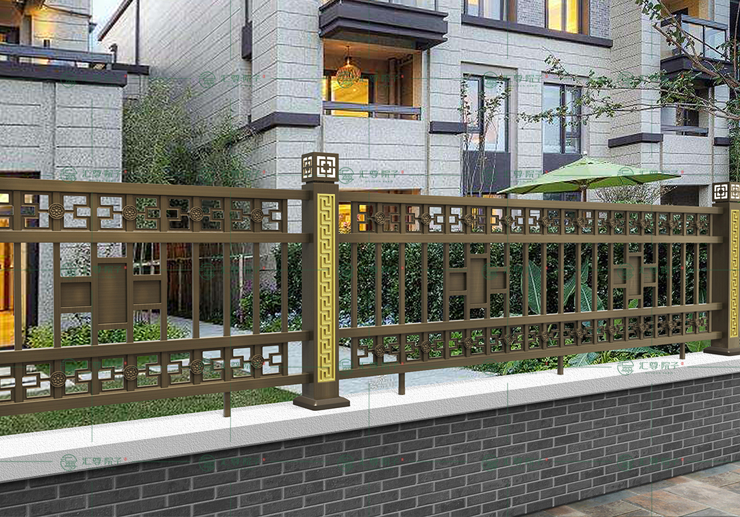 铝艺围栏与普通围栏的区别