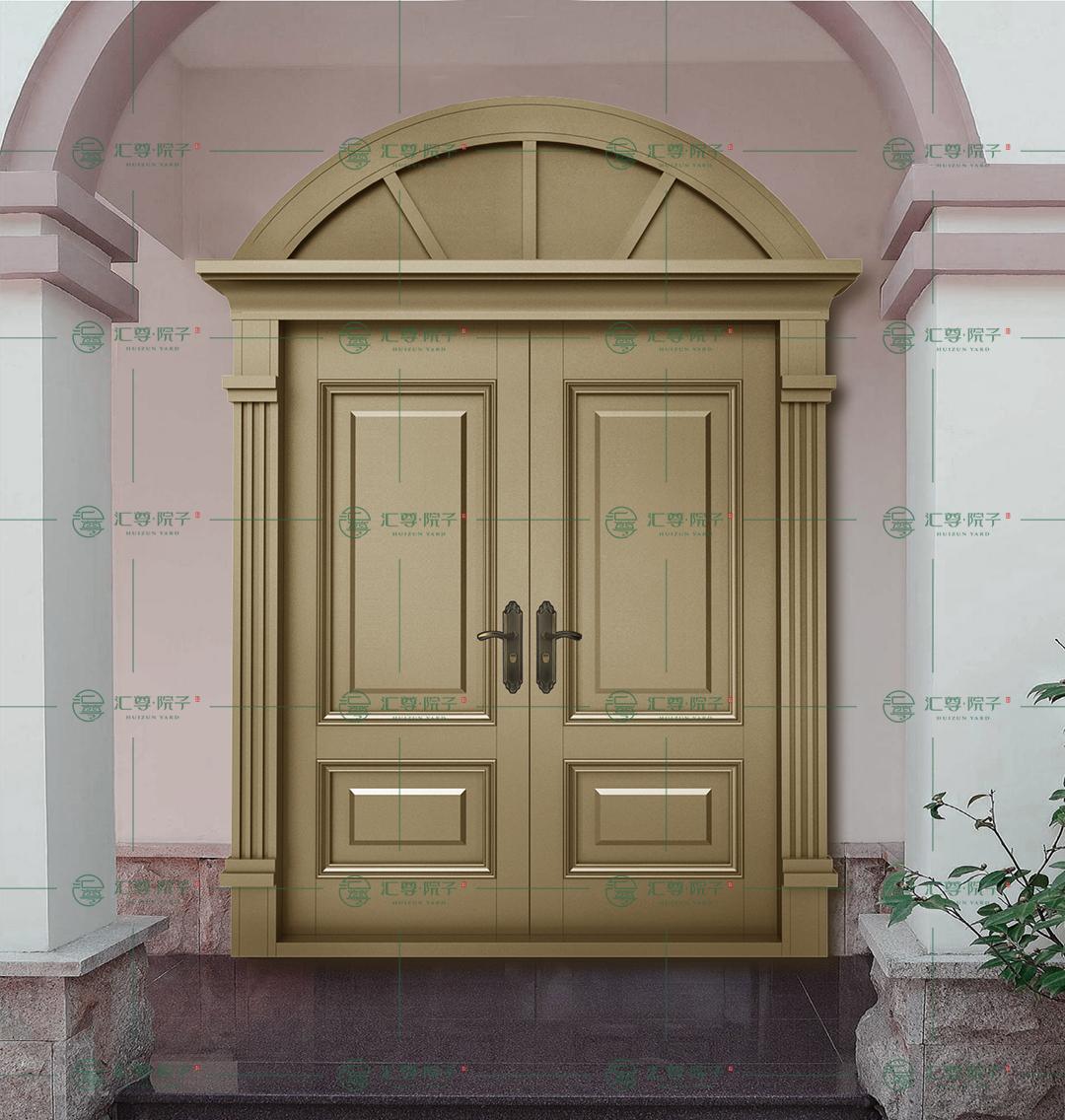 美式风格入户门