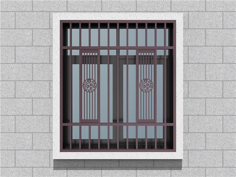 新中式防盗窗