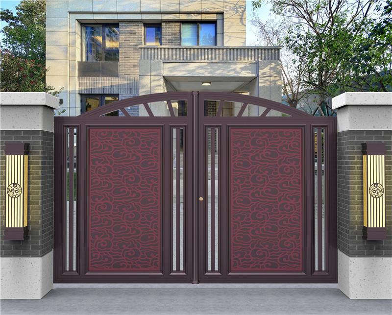 新中式庭院大门