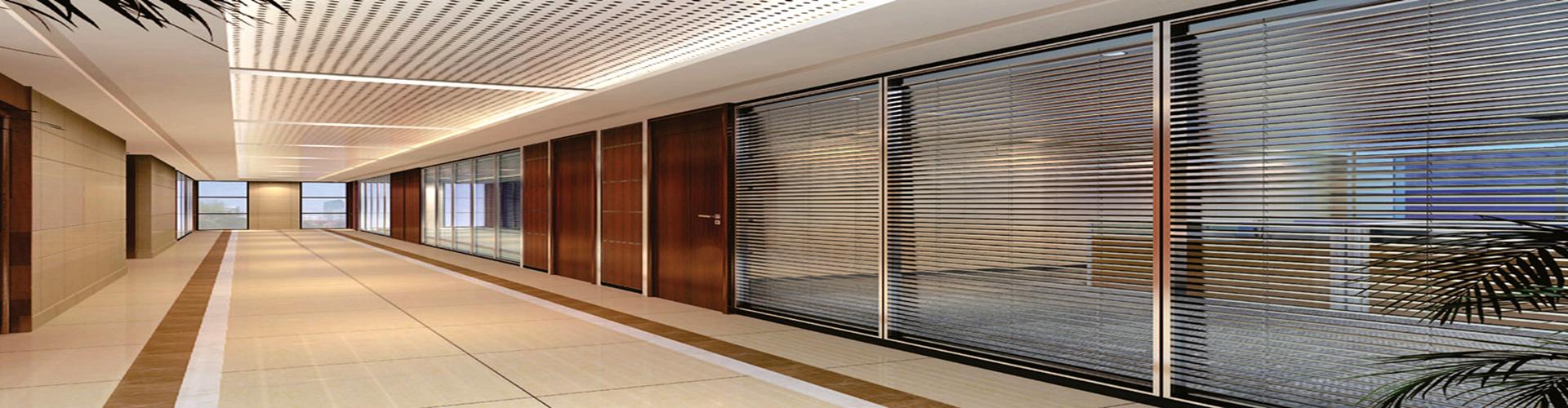 铝合金办公玻璃隔断的性能特点