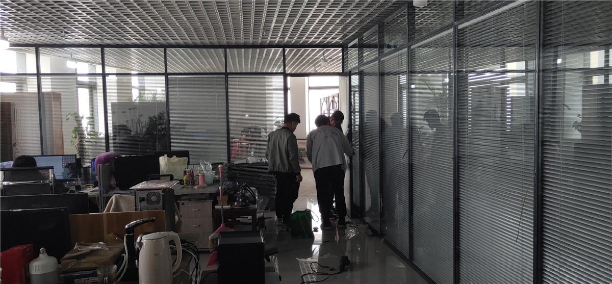 新疆旅游协会办公隔断