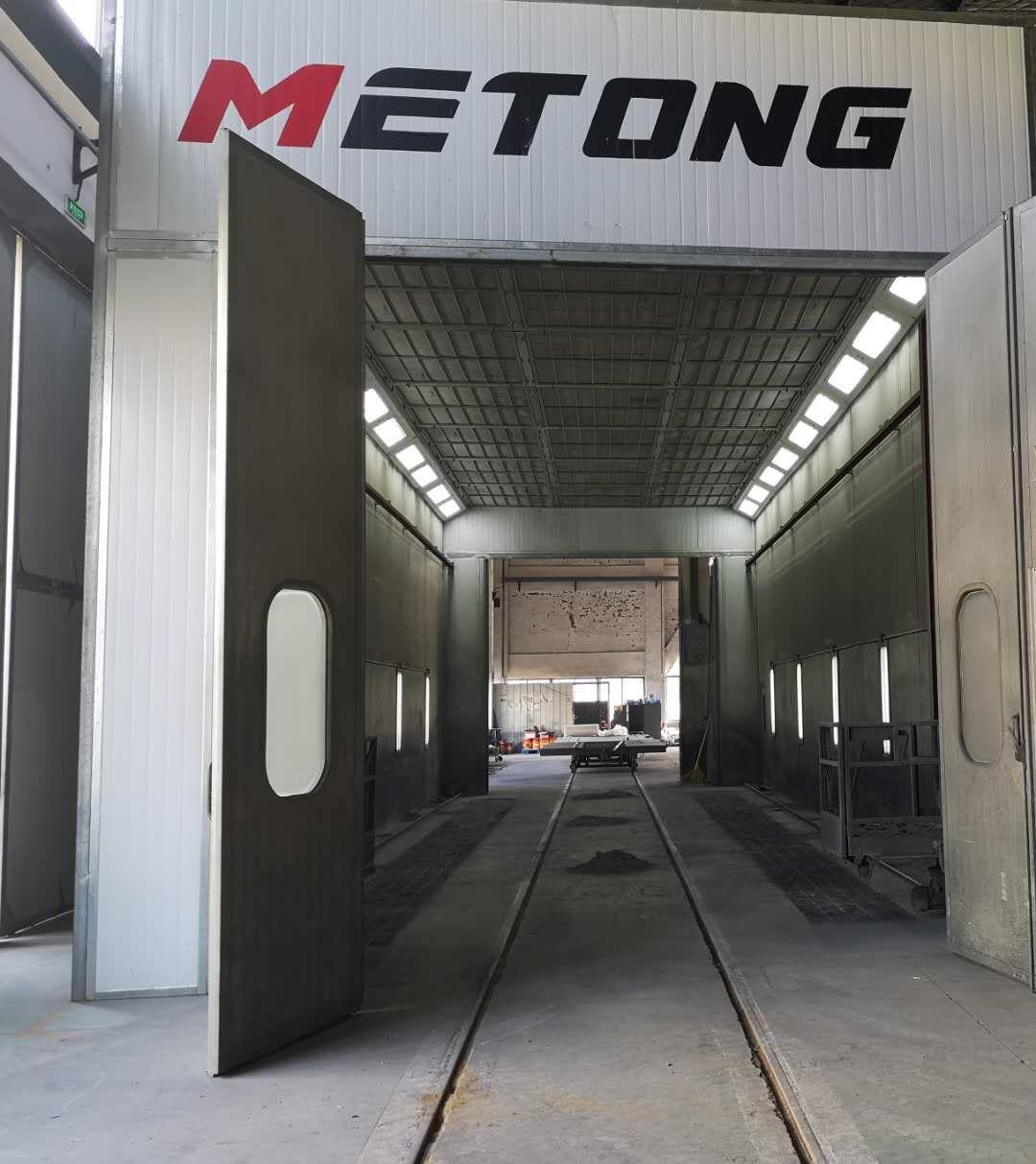 盐城福斯泰环保设备有限公司在美通重机的定制喷漆房圆满竣工