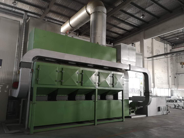盐城福斯泰环保设备有限公司在杭州萧山的配套定制废气处理设备圆满竣工