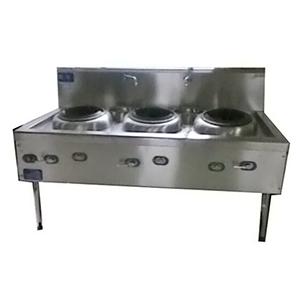 三头烧菜炉