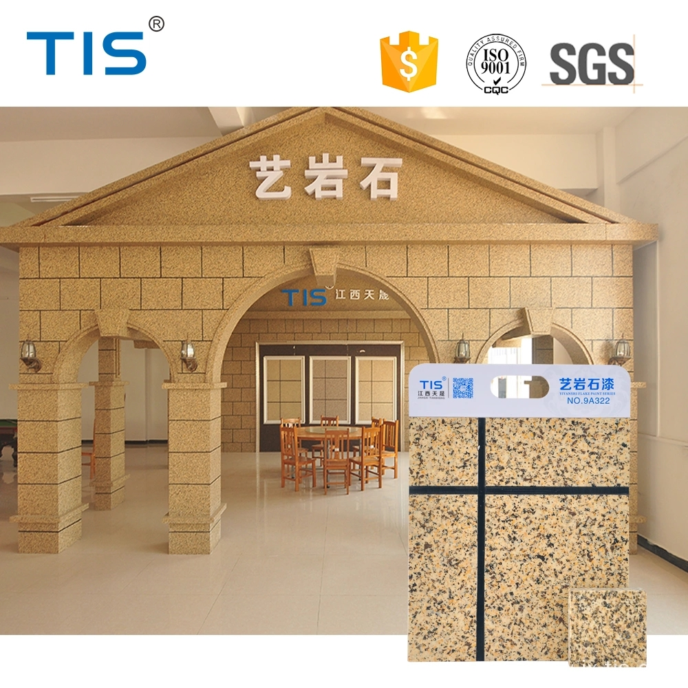 Customized Deco Chips Natural Granite Stone Coatin
