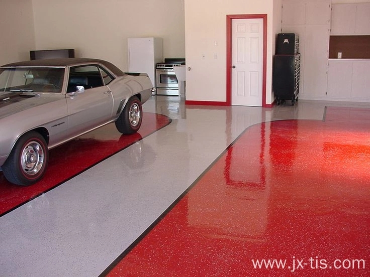 Slip Resistant Acrylic flackes for Garage Floors