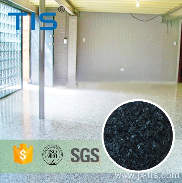 airport epoxy flooring granite flake paint
