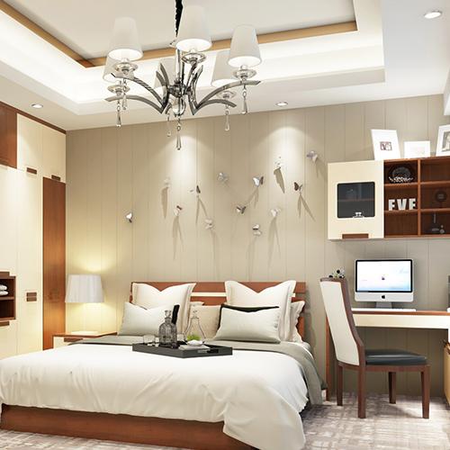 现代简约中式卧室