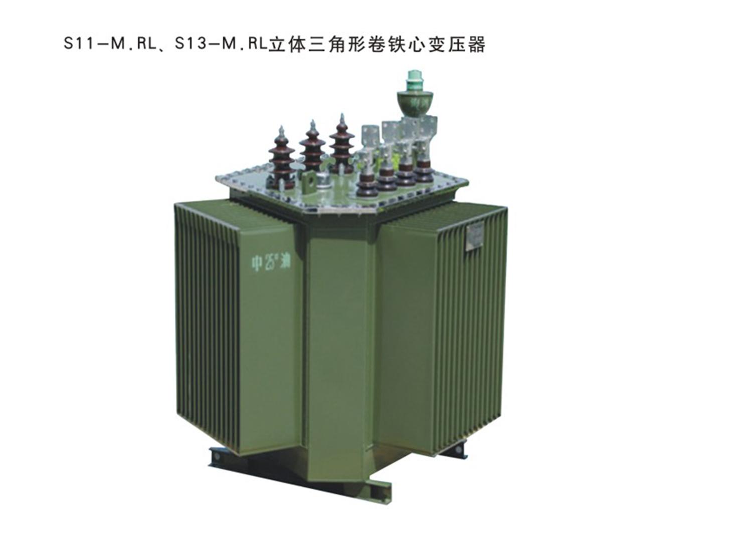 立体卷铁芯变压器