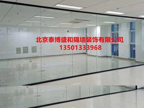 单层玻璃隔断价格