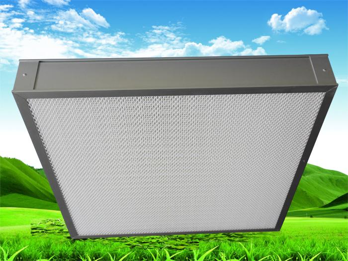 影响高效空气过滤器设备过滤效率的3大原因!