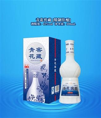 青花瓷窖藏精致佳酿-国御酒业