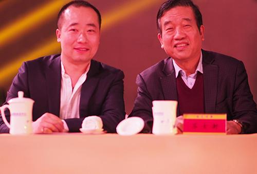 中国书法家协会主席苏士澍合影