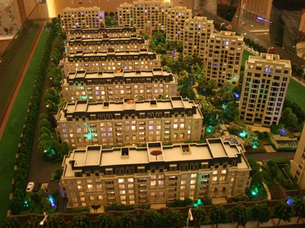 房地產樓盤模型設計