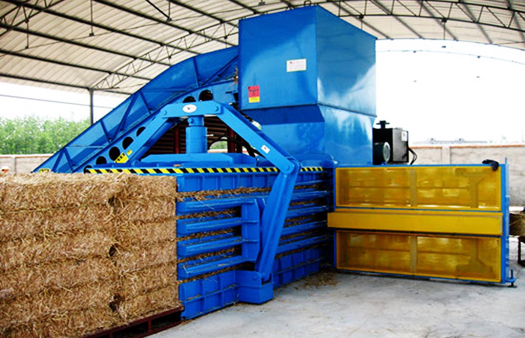 稻草秸秆打包机