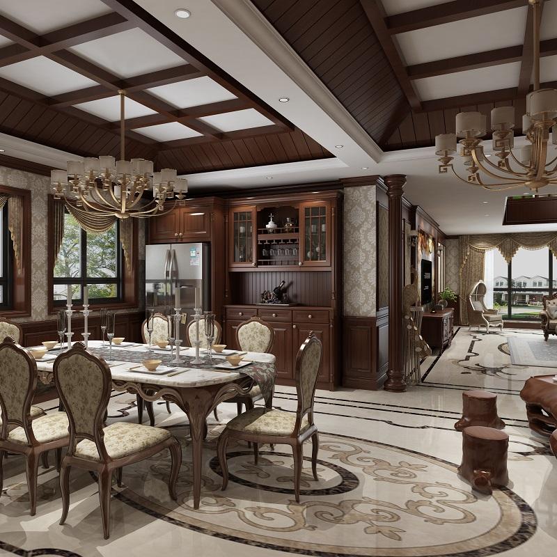 中式风格餐厅柜