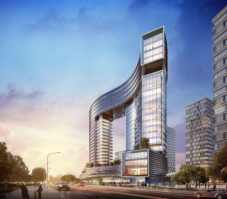 涿州千喜鹤京南IFC国际金融中心,均价5000-7500元/㎡,30-80㎡LOFT公寓项目,高新区25万㎡地标级城市综合体