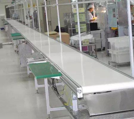 工厂流水线组装台