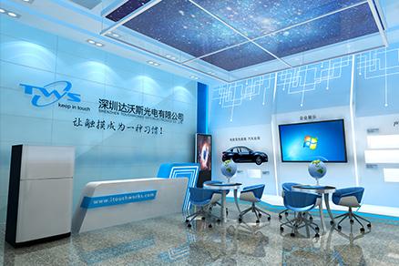 达沃斯深圳展厅展馆搭建