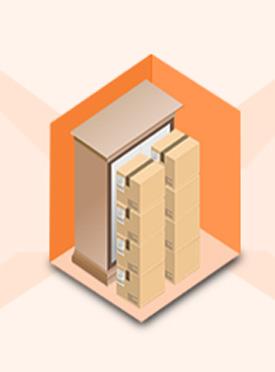 小仓型 | 空间:10-17㎡ 价格:66元m³/月起