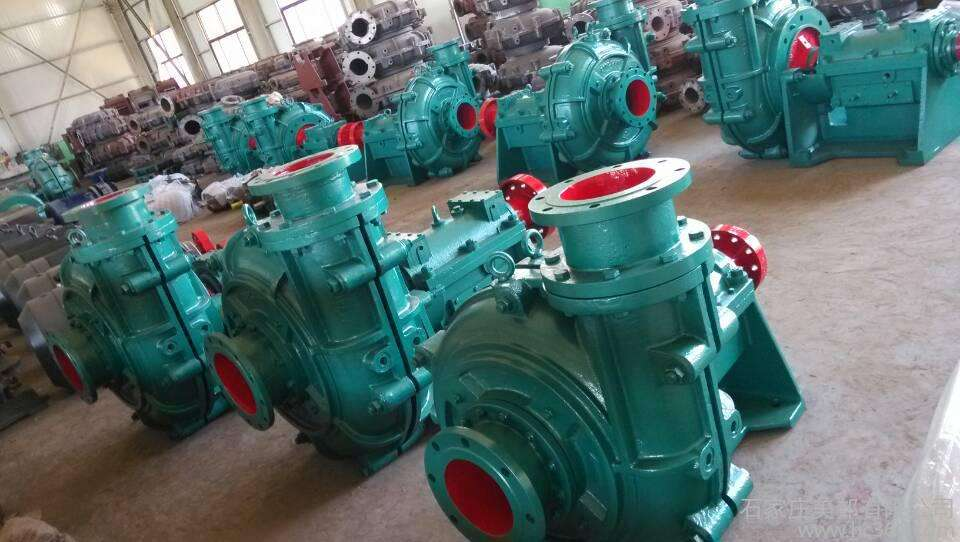 重型渣浆泵有哪些用途