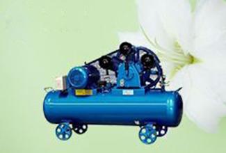 皮带传动式空压机