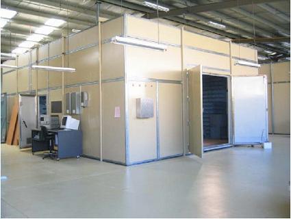 对电场和磁场同时进行屏蔽叫做电磁屏蔽室