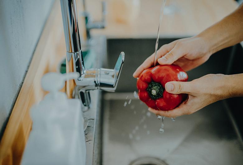 洗菜池清理