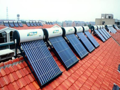 新疆水利局研究所皇明太阳能热水工程
