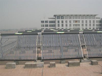 新疆武警大队皇明太阳能热水工程