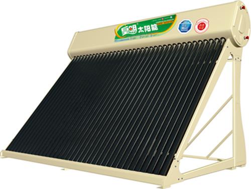 皇明冬冠双舱太阳能热水器