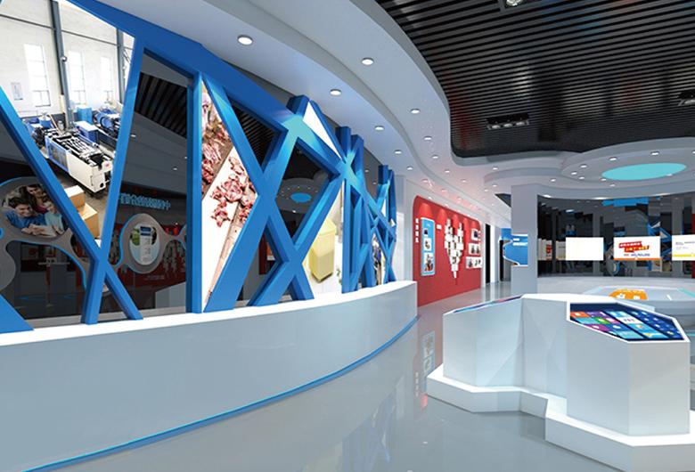 包钢集团企业文化设计施工展厅