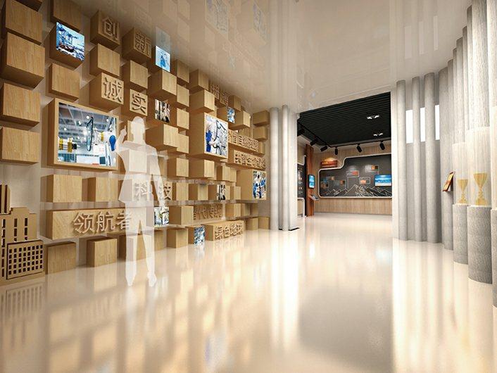 北京恒通赛木科技公司设计施工展厅