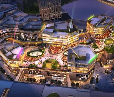 重庆龙湖天街项目