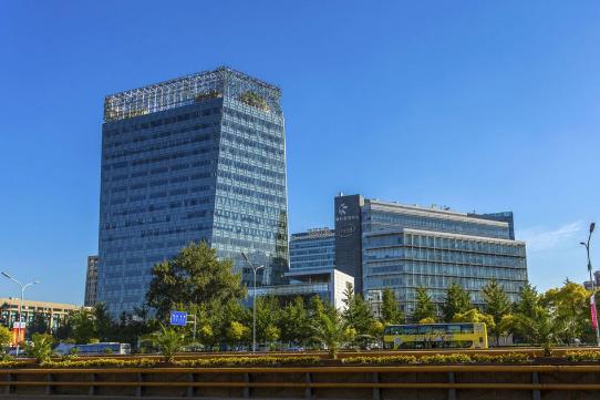 北京融科资讯中心使用蘭悦香氛系统