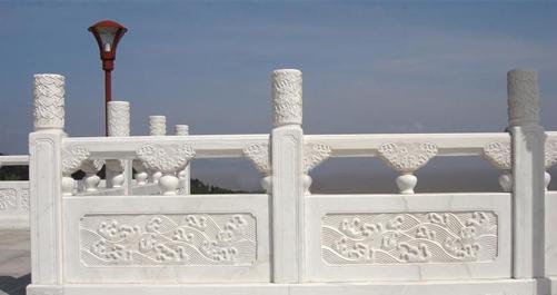 河南石材栏杆介绍:花岗岩石材栏杆,环保又节能
