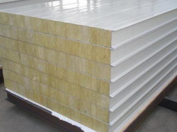 岩棉彩钢板的优缺点介绍
