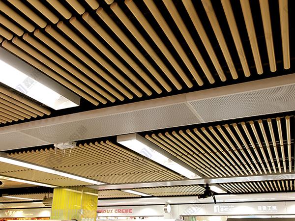 铝方通吊顶的优点和安装