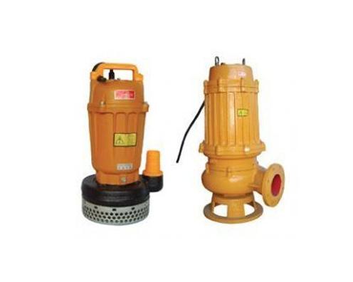 WQD型带刀装置潜水排污泵